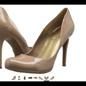 "Shoes - Jessica Simpson Nude 3.75"" Heels. NWOT"